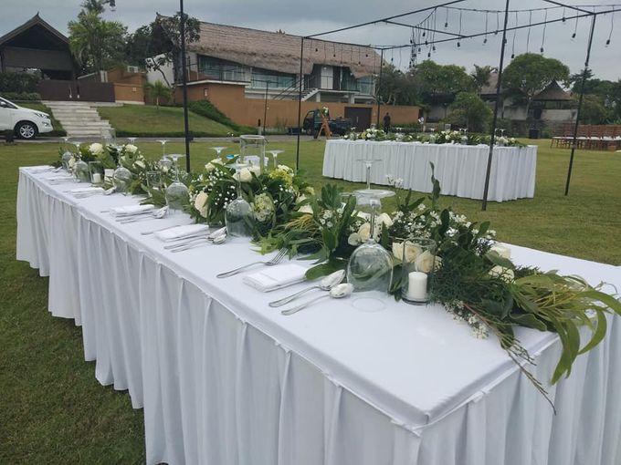 Reception Set Up by Million Rose Event Bali - 005