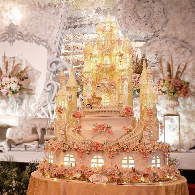 Wedding Cake - Real Wedding by RR CAKES - 001