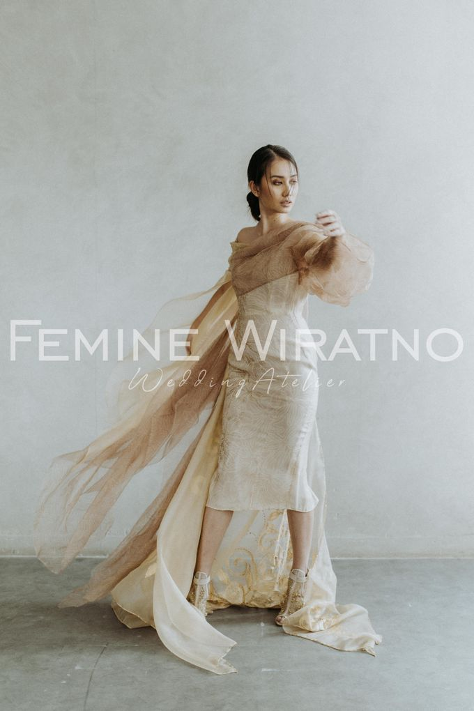 Hand Painted Gowns by Femine Wiratno - 005