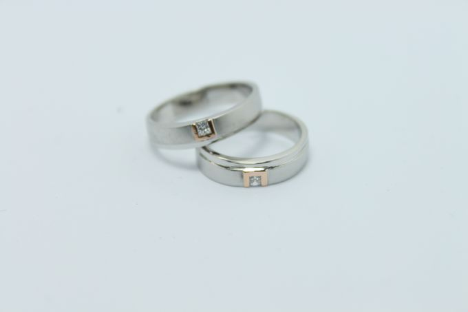 wedding ring simple Design by V&Co Jewellery - 010