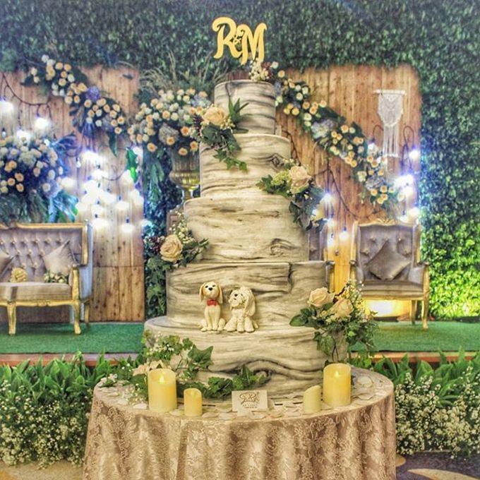 Wedding Cake - Real Wedding by RR CAKES - 002