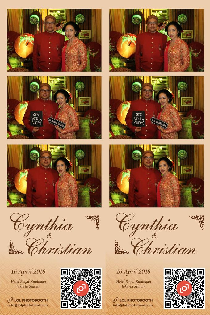 Wedding of C & C by lolphotobooth.co - 004