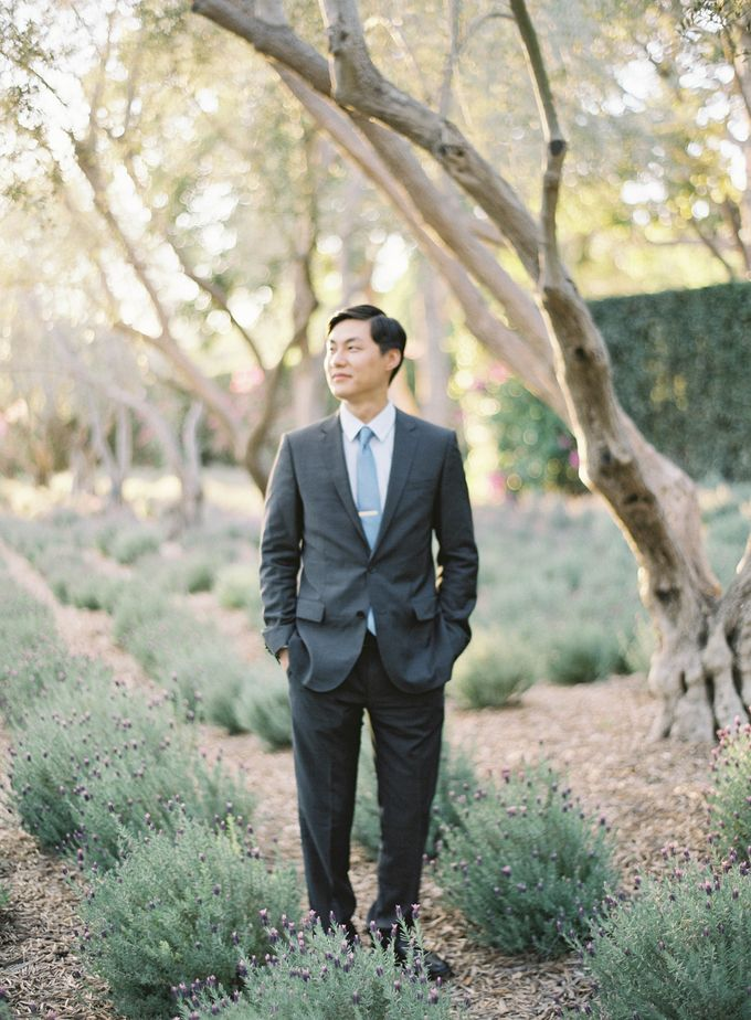 Chinese Tea Ceremony & Wedding in the Lavender Gardens of San Ysidro Ranch by Jen Huang Photo - 032