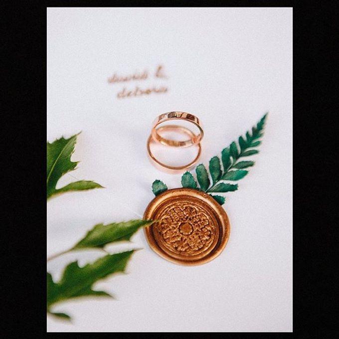 Wedding Ring : David & Debora by The Glint & Glaze - 003
