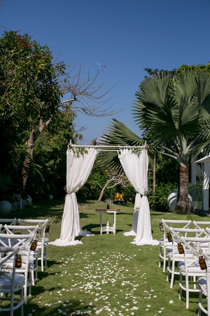 Garden Wedding by Bali Event Hire - 003