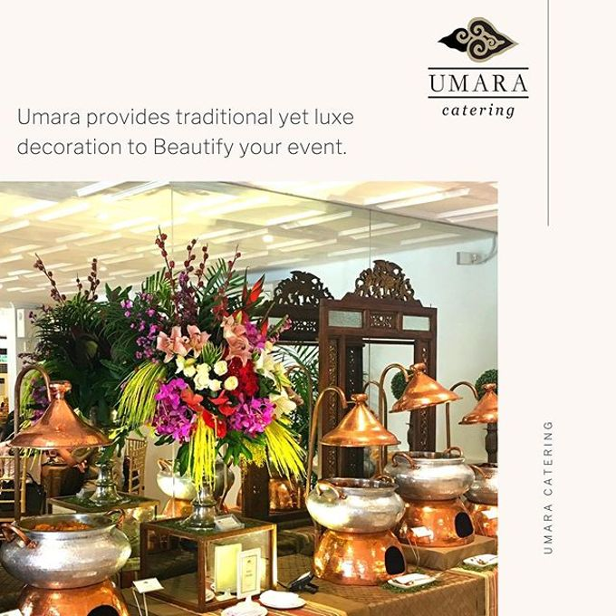 Decoration by Umara Catering - 019