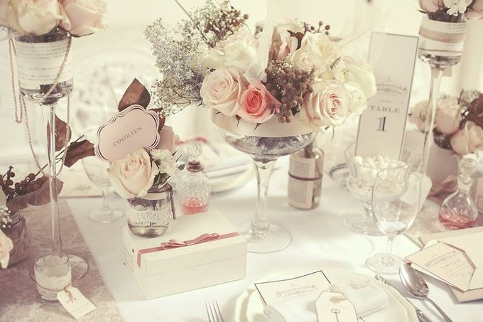 a beautiful dream by Tea Rose Wedding Designer - 001