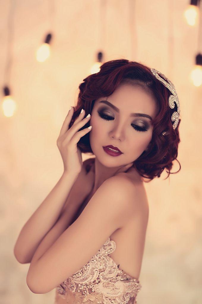 Great Gatsby Idea by Sasa Carella Professional Makeup Artist ...