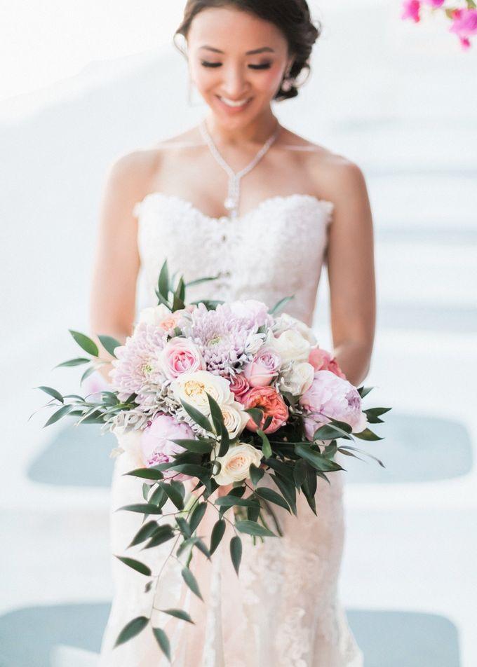 Dusty Pink Dream Wedding in Santorini by Stella & Moscha Weddings - 034
