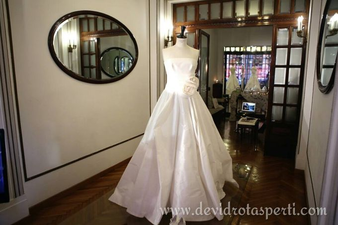 50 shades of White: the creation for a bride by BELLAVITA WEDDING, Italian wedding creators - 009