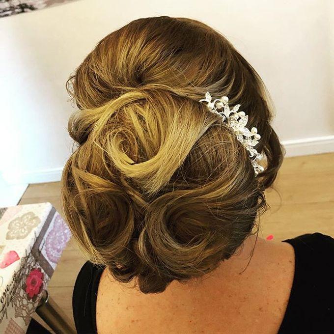 Bridal & events hair  by Danielle Marouzet Hair Design - 014