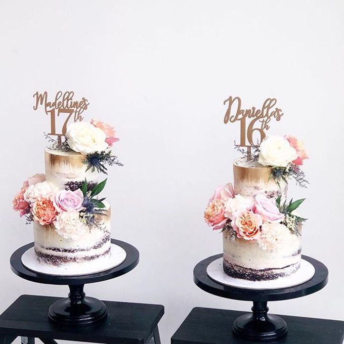 Tiered and Wedding Cakes 2019 by Nana Cake Boutique - 019