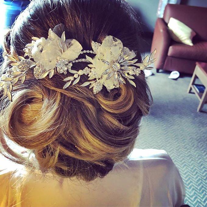 Bridal & events hair  by Danielle Marouzet Hair Design - 012