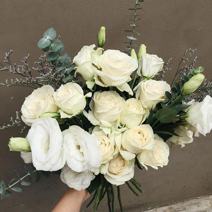 Wedding Bouquet by HARA Florist - 001