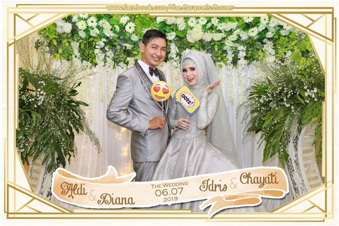Aldi & Diana - Idris & chayati Wedding party by The Caramel's Corner - 003