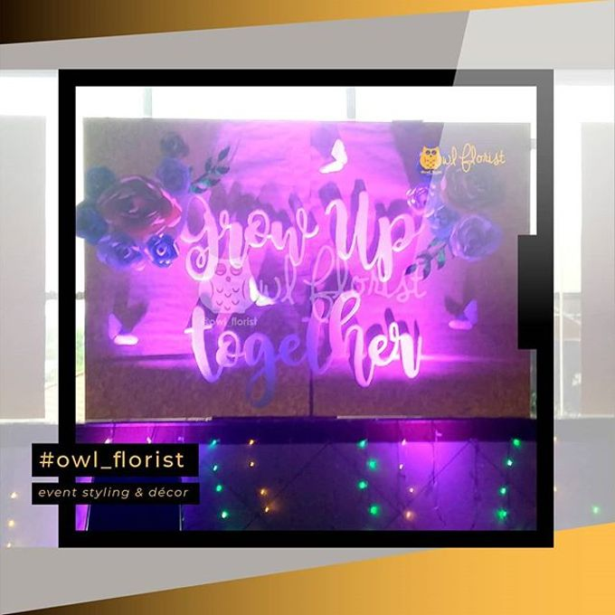 OWL FLORIST - event styling & decor - LIGHTING - DEKORASI - EO by Owl Florist - 002