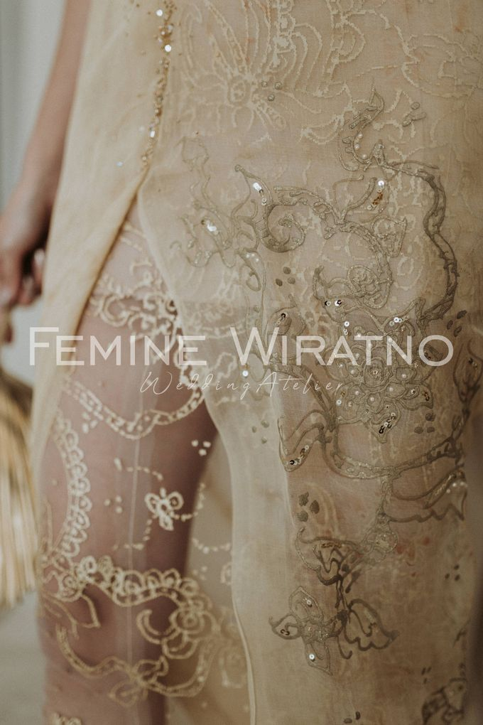 Hand Painted Gowns by Femine Wiratno - 006
