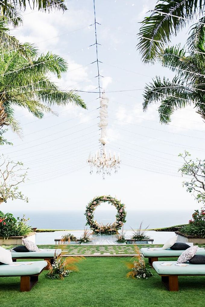 Whimsical Tropical Wedding at Stone House by Tirtha by Tirtha Bali - 007