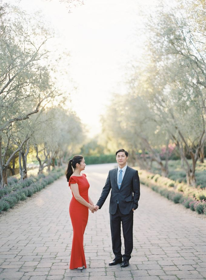 Chinese Tea Ceremony & Wedding in the Lavender Gardens of San Ysidro Ranch by Jen Huang Photo - 034