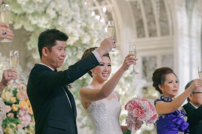 Maurice & Natasya Jakarta Wedding by Ian Vins - 039