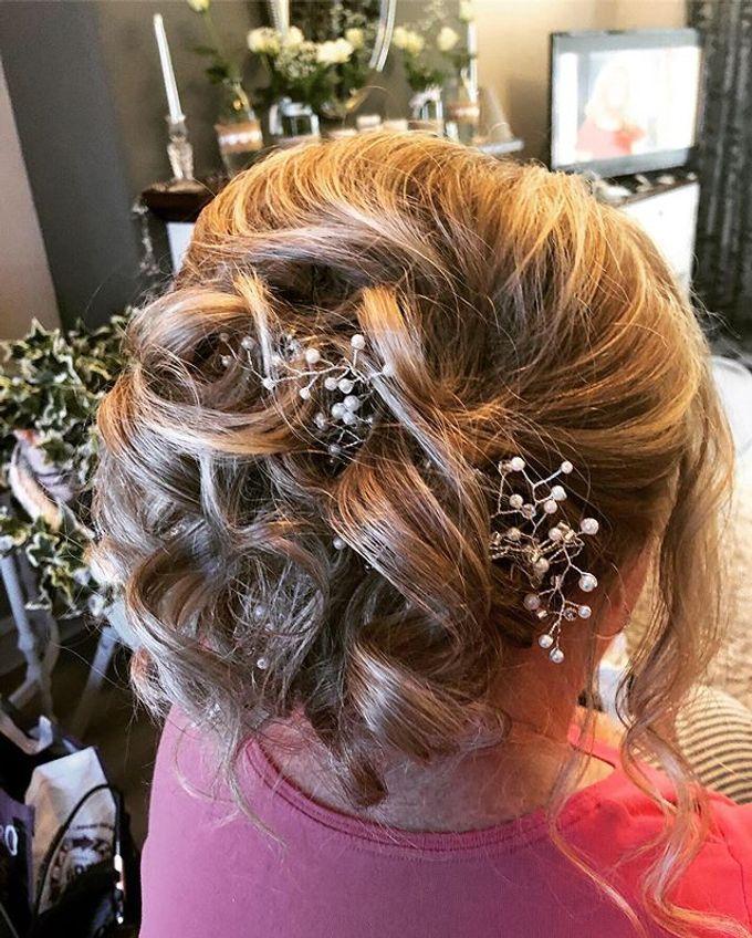 Bridal & events hair  by Danielle Marouzet Hair Design - 013