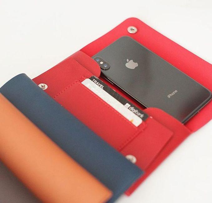 Handphone & Card Wallet by Le'kado - 016