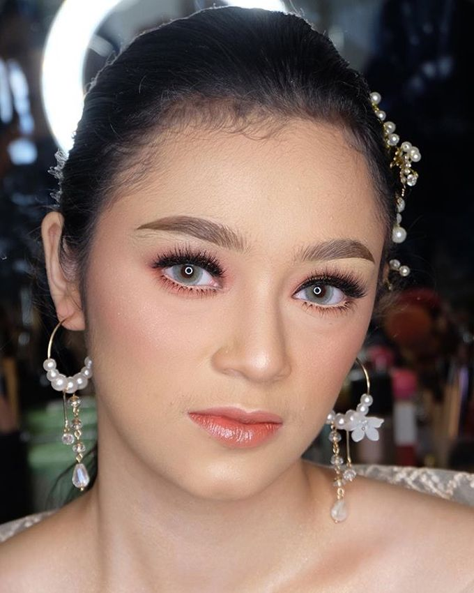 Wedding project by Zilla_dr make up - 028