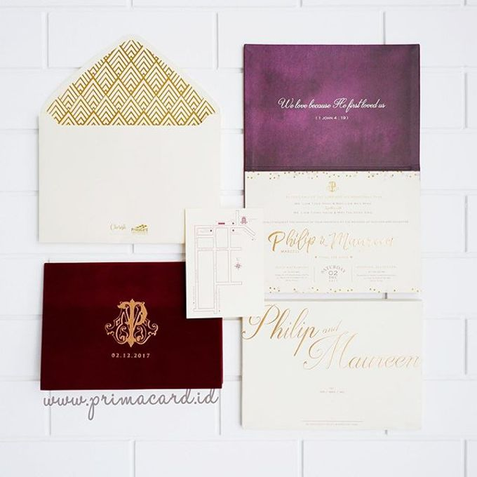 Wedding of Philip & Maureen by Prima Card - 002