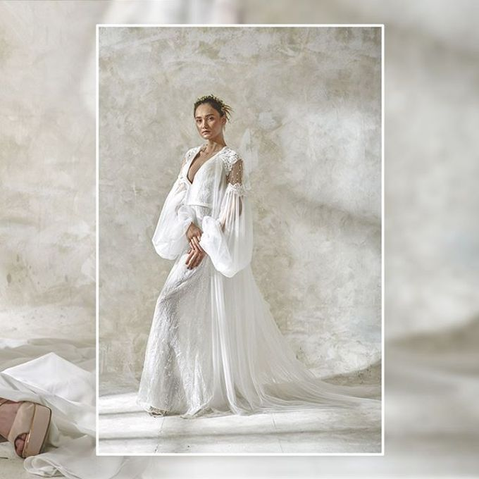 Wedding Robe by Devy Ross Couture  - 005