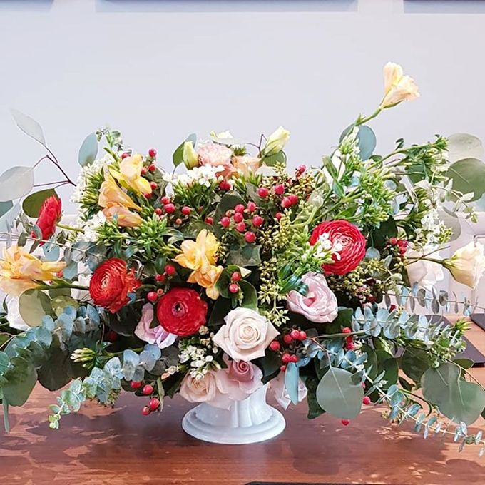 Wedding Of David & Eliz @ Swissotel by Dorcas Floral - 002