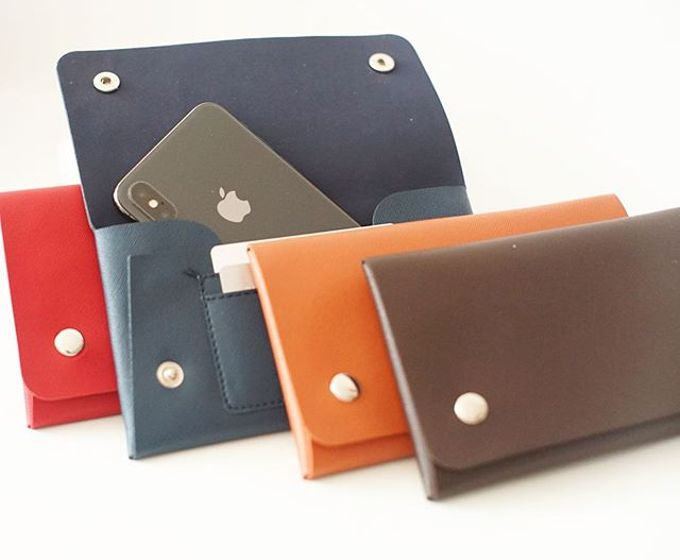 Handphone & Card Wallet by Le'kado - 015