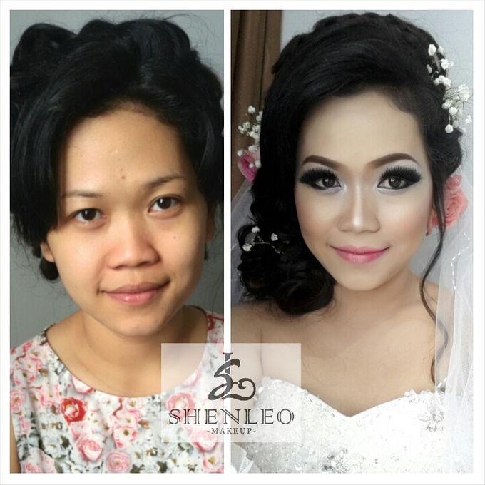 wedding makeup by ShenLeo Makeup - 001