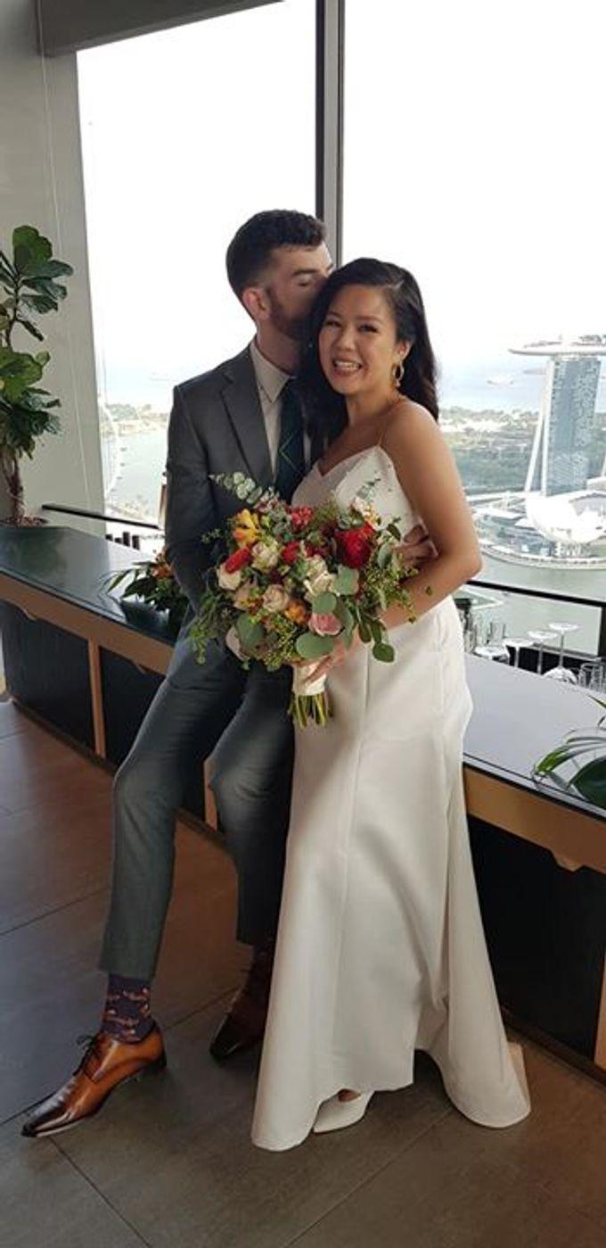 Wedding Of David & Eliz @ Swissotel by Dorcas Floral - 003