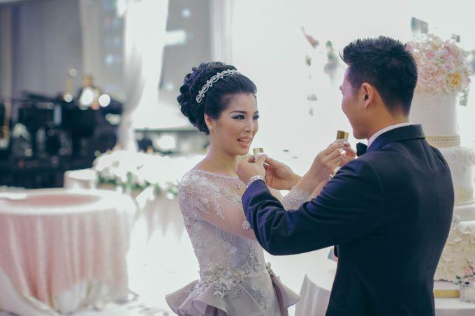 Tomas & Asti Jakarta Wedding by Ian Vins - 041