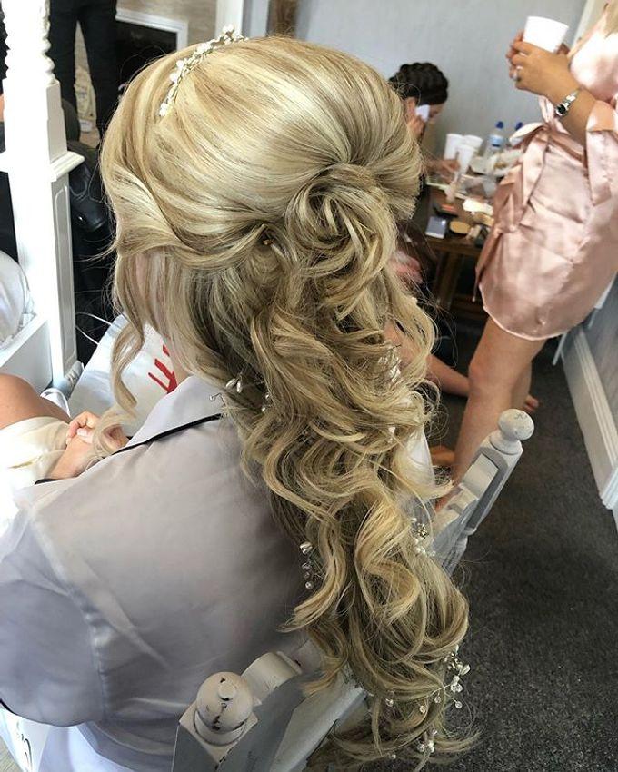 Bridal & events hair  by Danielle Marouzet Hair Design - 011
