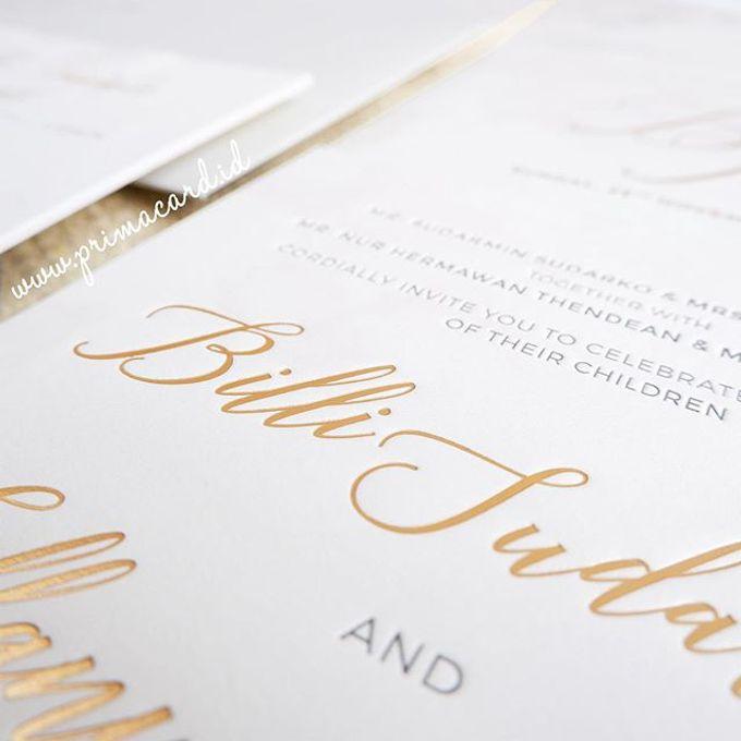 Wedding Invitation of Billi & Tiffany by Sheraton Grand Jakarta Gandaria City Hotel - 002