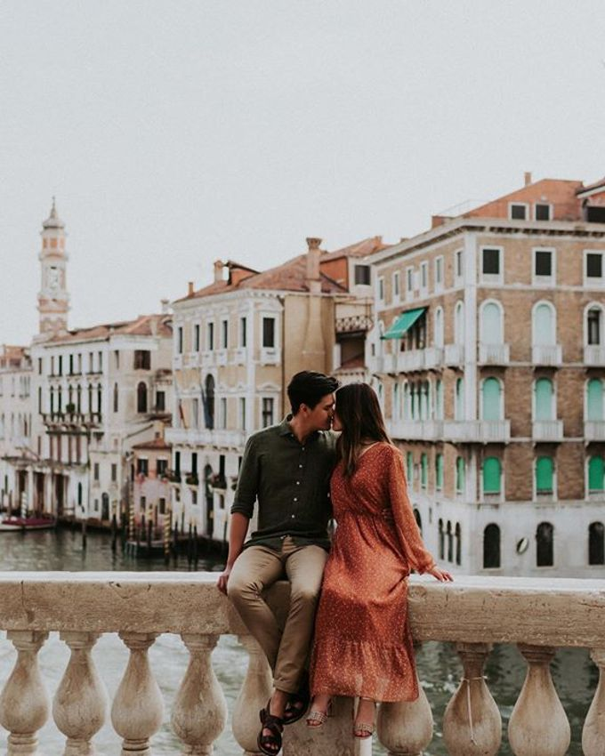 Venice Engagement session by Phan Tien Photography - 001