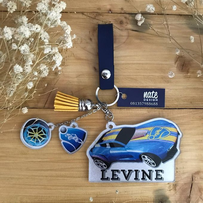 Keychain & Charms by Nate Design - 004