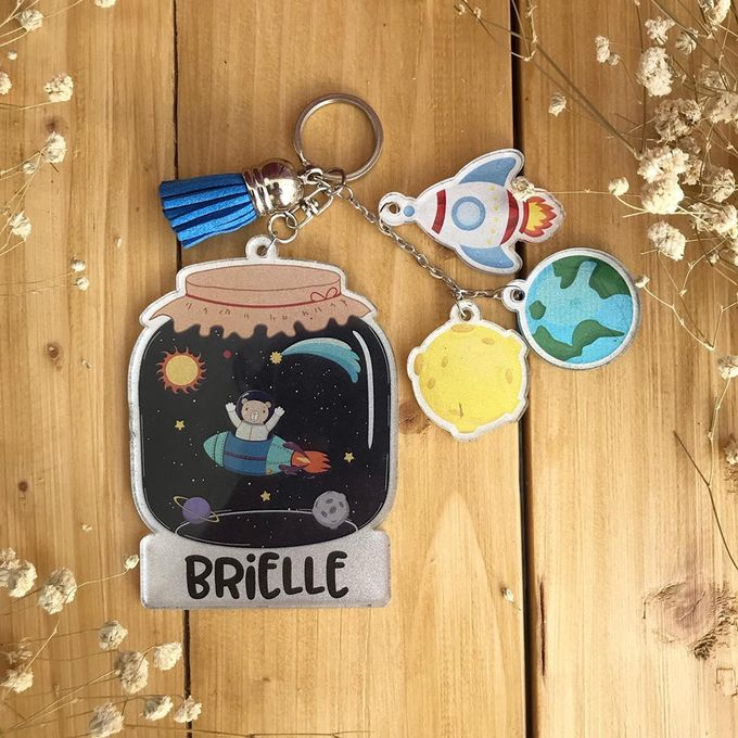 Keychain & Charms by Nate Design - 006