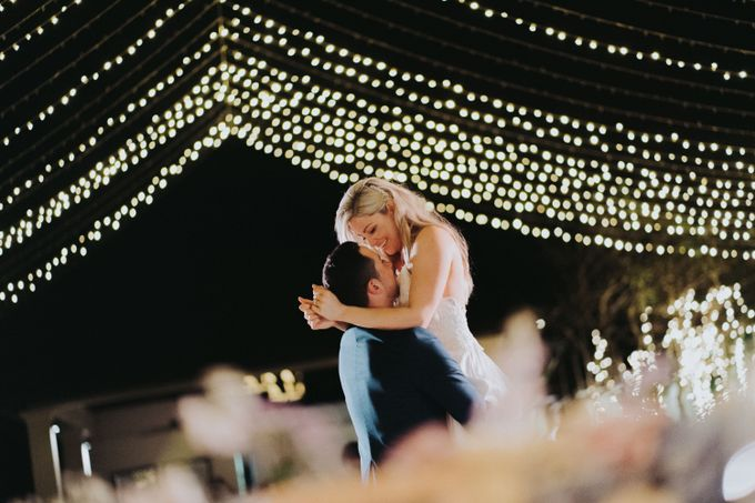Beautiiful Clifftop Wedding of Kyle & Kelly by Silverdust Decoration - 013