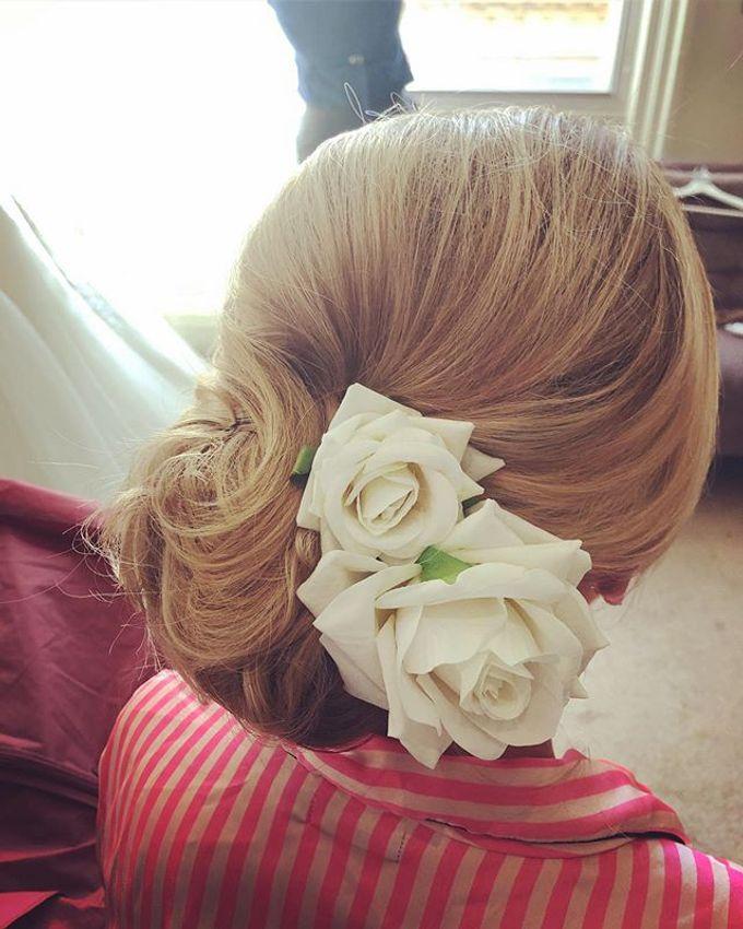 Bridal & events hair  by Danielle Marouzet Hair Design - 009