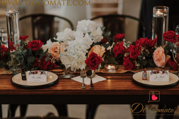 Elegant Fall Burgundy and Gold by de comate - 028