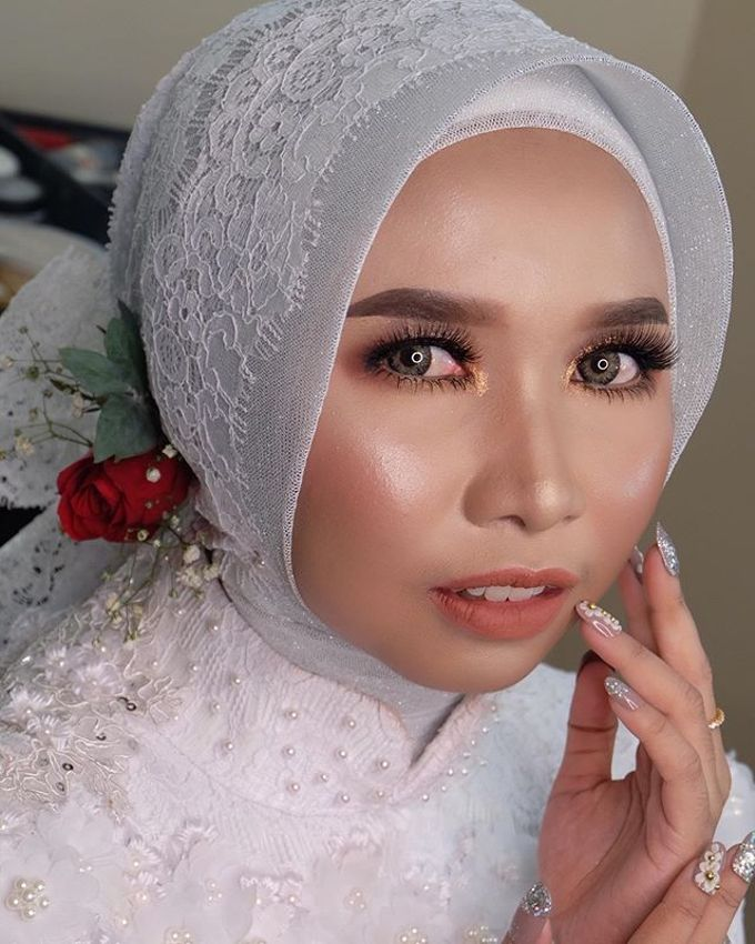 Wedding project by Zilla_dr make up - 009