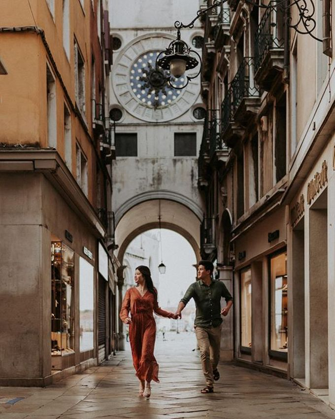 Venice Engagement session by Phan Tien Photography - 002