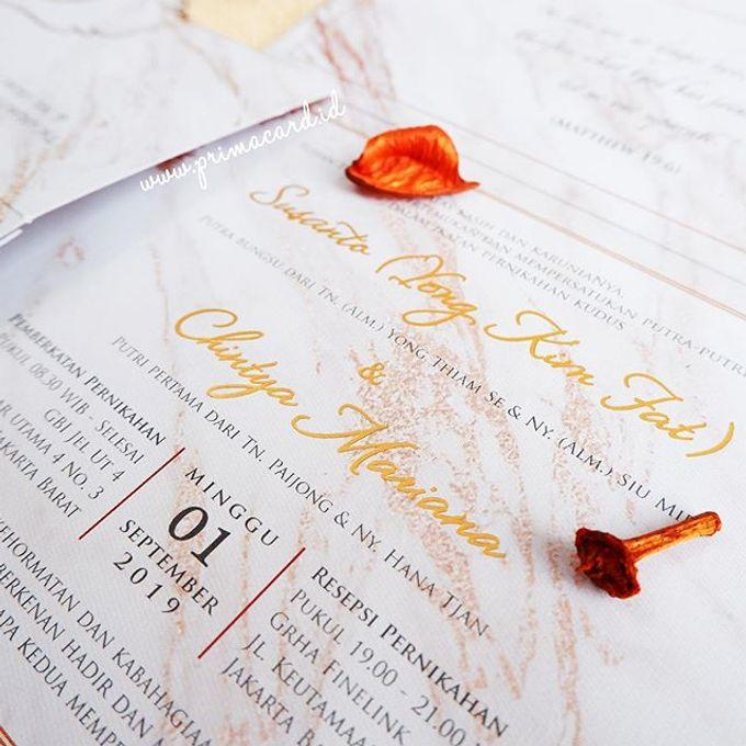 Wedding of Susanto & Chintya by Prima Card - 004