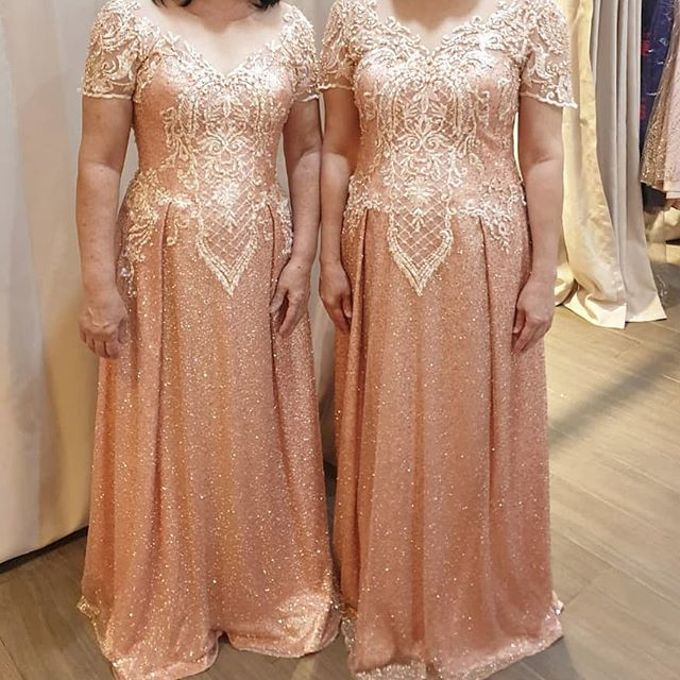 Mom  and sister gown by SAVORENT Gown Rental - 010