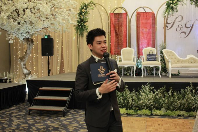 Mc Entertainment Wedding Sheraton Gandaria - Anthony Stevven  with Double V Entertainment Jakarta by Anthony Stevven - 013