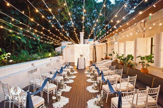 Roof of Stars Solemnisation Wedding by Botanico @ The Garage - 001