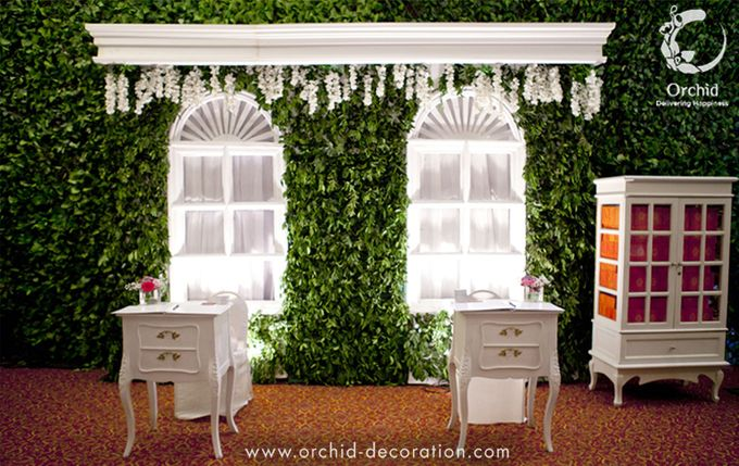 Life began in a garden by Orchid Florist and Decoration - 007