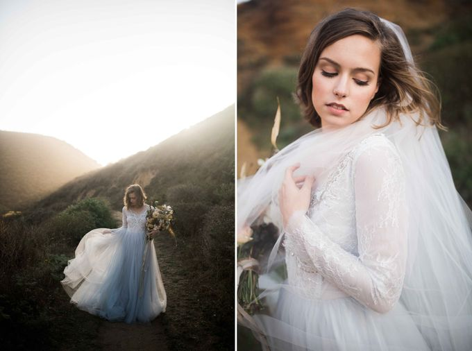 Sunset Bridal Inspiration by MYWONY - 006